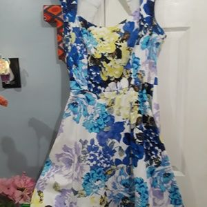 New York and Company floral dress 14